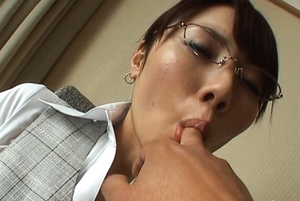 Yuu Kaiba Japanese office gal is sexy