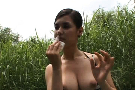 Maria Ozawa Asian secretary is hot in her job