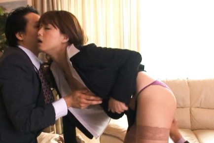 Akiho Yoshizawa is a juicy Asian model