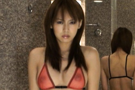 Asian secretary is beautiful and gives great head