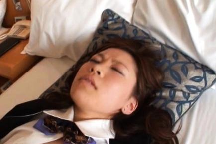 Japanese office girl sex