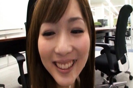 Yuu Asakura Hot Asian office lady gives good head