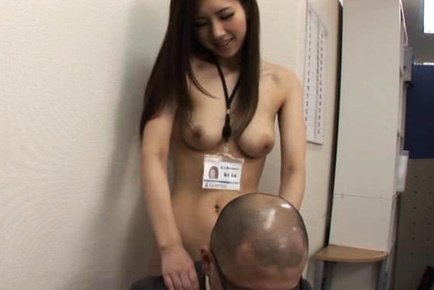 Arisa Aizawa eases tension in the office with a great fuck