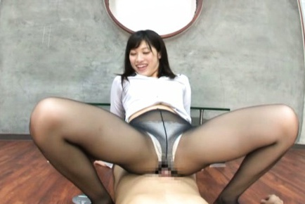 Superb Japanese model Miku Sunohara pleases horny guy