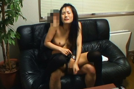 Japanese office lady has some hot sex action