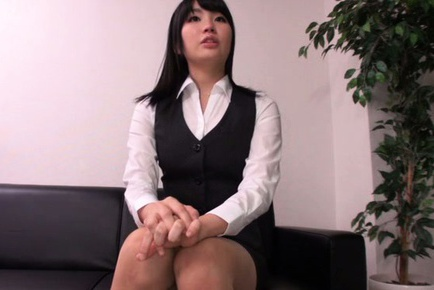 Satomi Nomiya Japanese working girl is hot