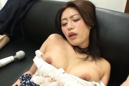 Insatiable office lady Kaori enjoys kinky office sex