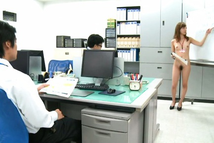 Miyuki Yokoyama gets nasty at the office
