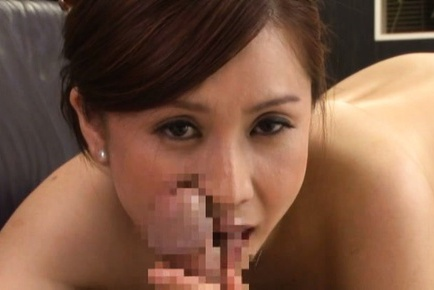 Mature Yurie Matsushima enjoying a big tasty dick