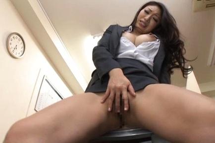 Hottie fingering her soaking wet pussy 9