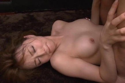 Nasty Asian milf is fucked hard in the office