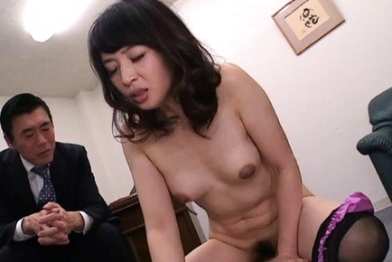 Luscious mature banged and creampied